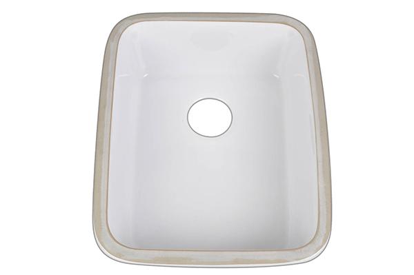 PostHeaderIcon Ceramic Underm. White Bar Sink 1951